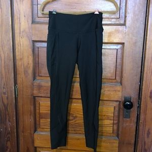 Black High Waisted Sport Leggings